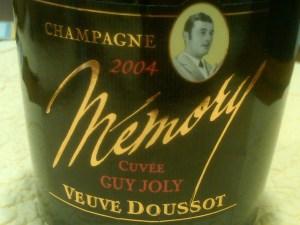 Veuve Doussot Memory 2004 #3