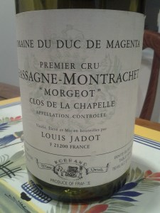 Magenta Jadot Morgeot Chapelle 1999 #2