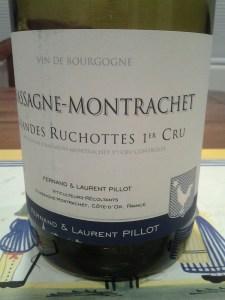 Pillot Chassagne Ruchottes 2001 #1
