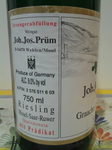 JJ Prum Spatlese Graacher Himmerich 2002 #1