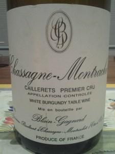 Blain-Gagnard Chassagne Caillerets 2002 #6