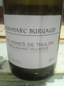 Jean-Marc Burgaud Beaujolais Thulon #1