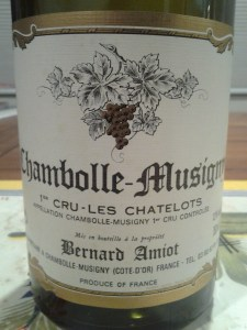 Bernard Amiot Chambolle Chatelots 1993