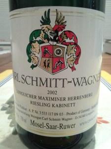 Carl Schmitt-Wagner Kabinett Maximin Herrenberg 2002