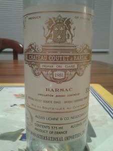 Coutet 1981
