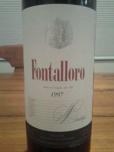 Felsina Fontalloro 1997 #1