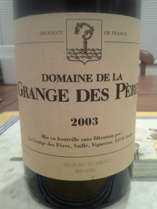 Grange des Peres 2003