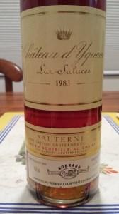 D'Yquem 1983 #1
