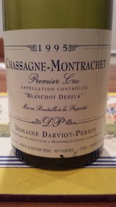Darviot-Perrin Chassagne Blanchots 1995 #1