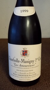 Groffier Chambolle Amoureuses 1999 #1