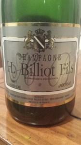 H. Billiot Fils Reserve Grand Cru Brut NV #1