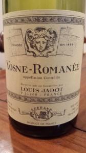 Jadot Vosne Romanee 1999 #1