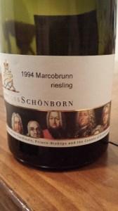 Schonborn Auslese 1994 #1