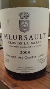 Lafon Meursault Barre 2008