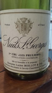 Lucien Boillot Nuits Pruliers 1991