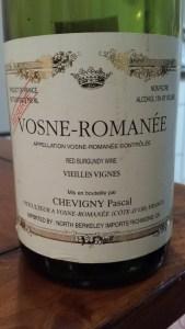 Pascal Chevigny Vosne Romanee 1996