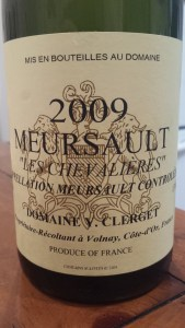 Clerget Meursault 2009