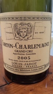 Louis Jadot Corton Charlemagne 2005