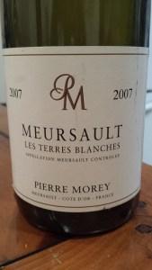 Pierre Morey Terres Blanches 2007 #1