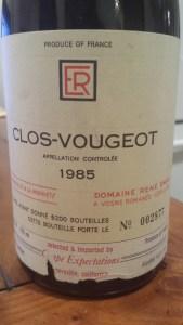 Rene Engel Clos Vougeot 1985