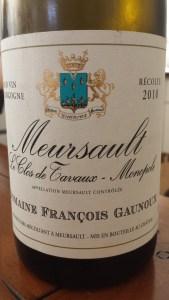 Gaunoux Meursault Tavaux 2010 #3