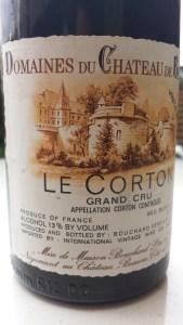 Bouchard Corton 1990