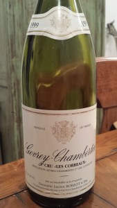 Boillot Gevrey Corbeaux 1999