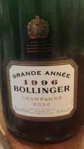 Bollinger Annee Rose 1996 #1