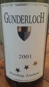 Gunderloch 2001 #1