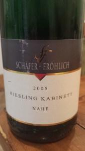 Schafer Frohlich Kabinett 2005