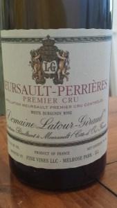 Latour-Giraud Meursault Perrieres 2010