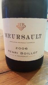 Henri Boillot Meursault 2006