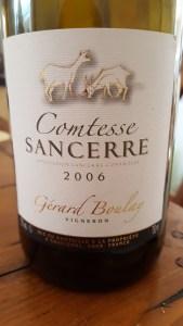 Gerard Boulay Sancerre Comtesse 2006