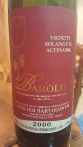 Barolo 2000