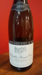 Louis Michel Chablis Butteaux 2007