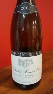 Louis Michel Chablis Butteaux 2007