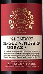 Brand & Sons Glenroy Single Vineyard Shiraz 2016