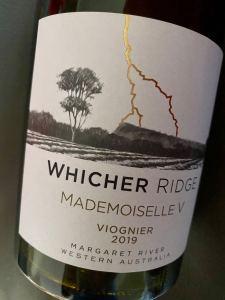 Whicher Ridge Mademoiselle V Viognier 2019