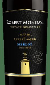 Robert Mondavi Private Selection Rum Barrel Merlot 2018