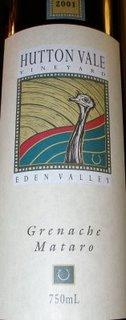 huttonvale http://thewineauxs.blogspot.com/2008/11/2001-hutton-vale-grenache-mataro.html