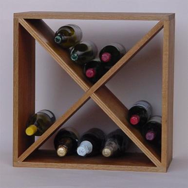bespoke handmade wine racks cubes