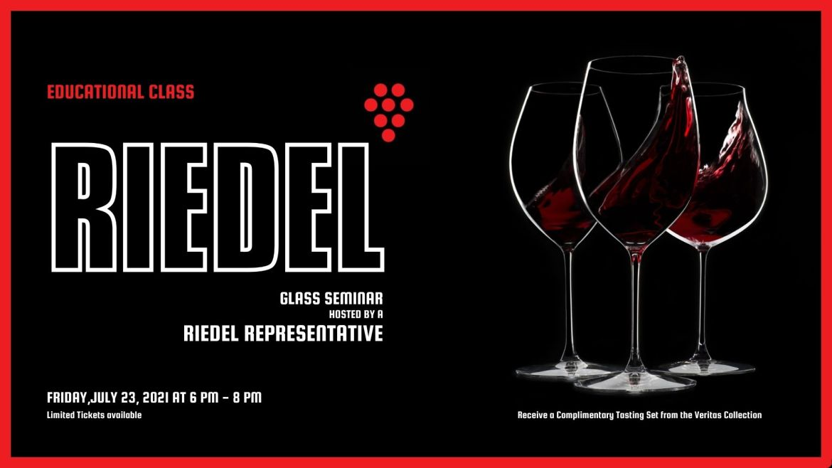 picture of Riedel glasses