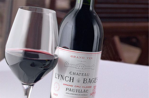 Most popular Bordeaux wines in the world's top restaurants