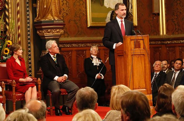King of Spain and Queen bond over Sherry