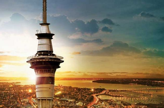 The Sky Tower Auckland restaurants