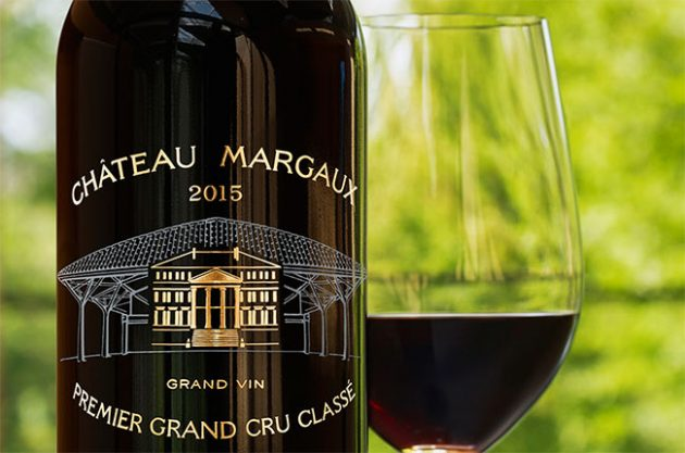 Château Margaux 2015 comes in commemorative bottle
