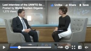Watch! Last interview with Taleb Rifai as UNWTO Secretary General includes a wish for tourism