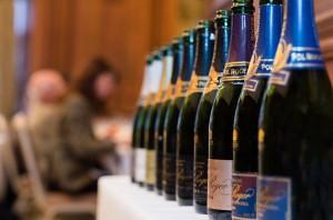 Royal Wedding wine: Pol Roger Champagne served