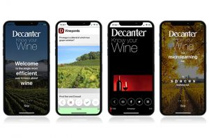 Decanter launches wine learning app