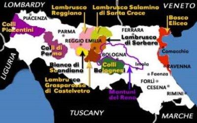 Italy: Wines of Emilia-Romagna